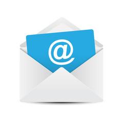 Email Envelope Concept, Vector Illustration