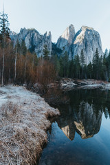 Early Morning Reflections at Yosemite National Park