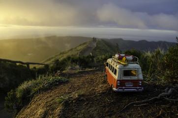 Aussichtspunkt auf den Azoren