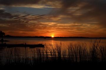 Sunset on a Florida Lake