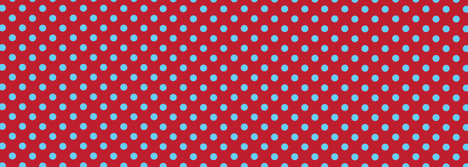 Red and Blue Polka Dot Background