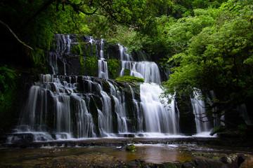 Cascading Waterfalls of Purakaunui