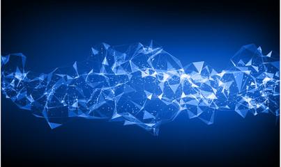 Concept futuristic tech background – vector