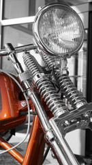 Chopper - Classic American Motorcycle