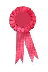 Pink Striped Ribbon