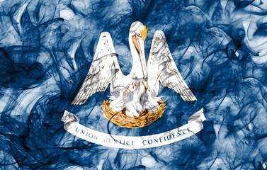 Louisiana state smoke flag, United States Of America