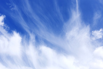 Sky and cloud ,Good weather day background.