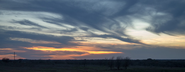 Central Texas Sunset 20180310