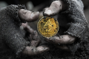 Ethereum in the hands of the miner. Mining Golden Bitcoins