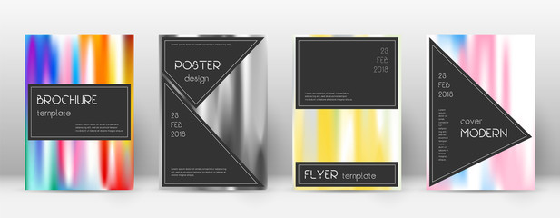 Flyer layout. Black divine template for Brochure, Annual Report, Magazine, Poster, Corporate Presentation, Portfolio, Flyer. Admirable lines cover page.