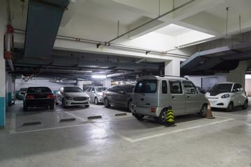 ビル駐車 地下車庫