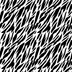 Abstract animal print seamless pattern