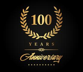 100 Years Anniversary Gold