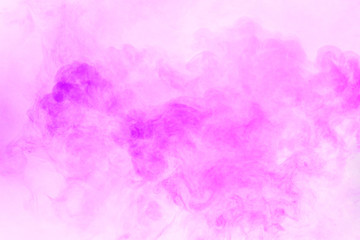 Violet smoke on a white background. Texture and desktop picture
