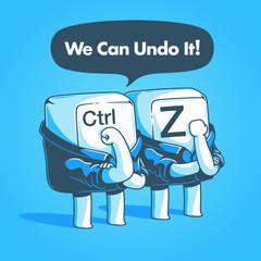 We can undo it!