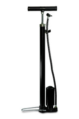 Black Air Pump isolated white background with clipping path.