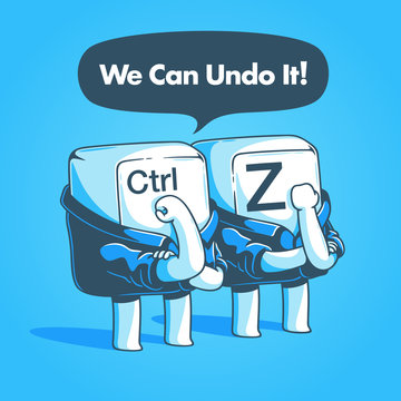 We can undo it!