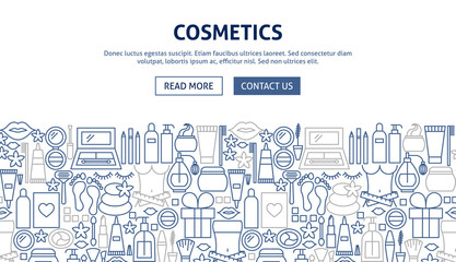 Cosmetics Banner Design