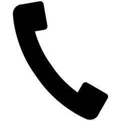 Icon of phone vector