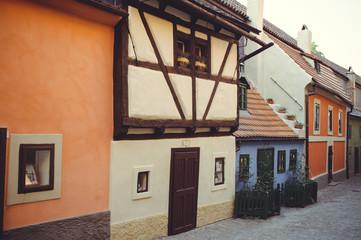 tourist street of Prague