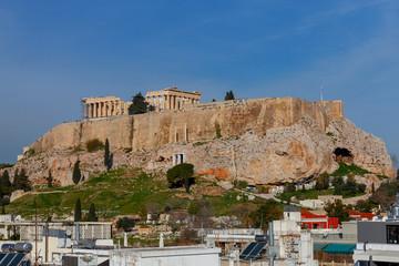 Autocollant pour porte Athènes Athens. The Parthenon on the Acropolis.