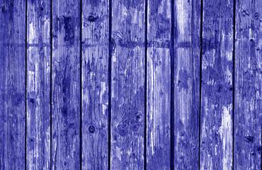 Wooden fence pattern in blue tone.