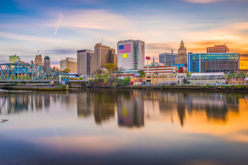 Newark, New Jersey, USA Skyline Wall mural