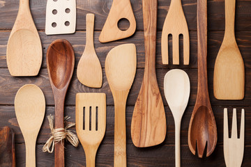 Various cooking utensils
