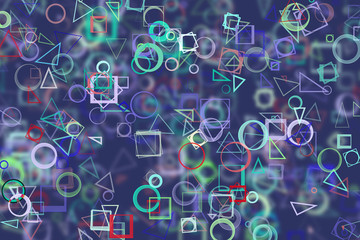 Abstract background with shape. Pattern, wallpaper, effect, web & rectangle.
