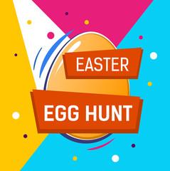 Easter Egg Hunt Inscription