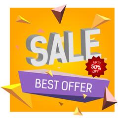 Sale Best Offer Lettering