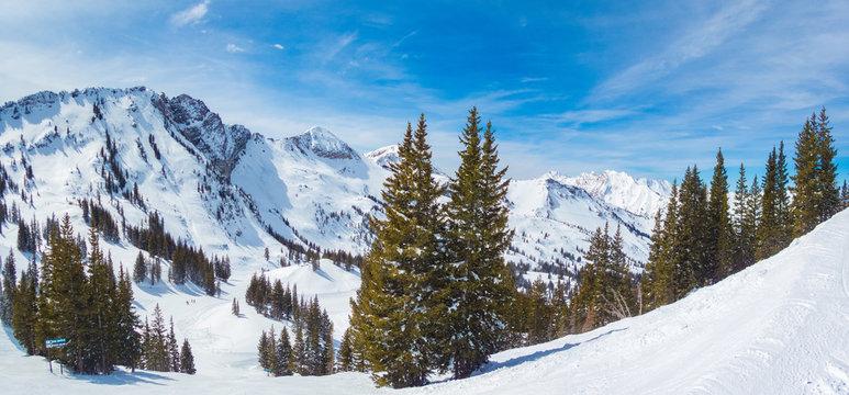 Photo Panorama of Alta Utah