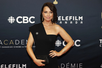 Maxim Roy arrives at the Canadian Screen Awards in Toronto