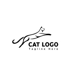 brush jump cat logo