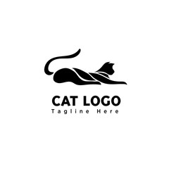 art sleep cat part logo