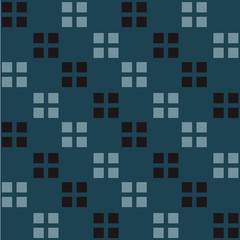 Box to box seamless pattern. Strict line geometric pattern for your design.