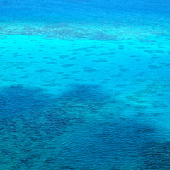the great reef from the high