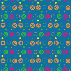 Moody wallpaper seamless pattern. Autentic design for textile, print or digital.