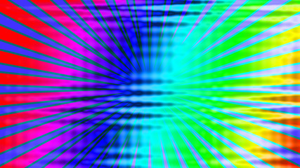 An abstract rainbow colored tie dye background.
