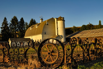 Barn of wheels