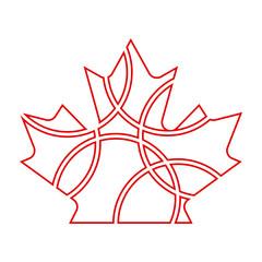 Maple Leaf Circles