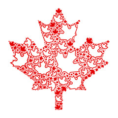Maple Leaf Particles