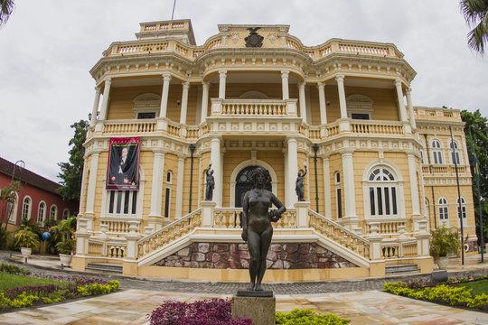 'Rio Negro' palace. Manaus city / Brazil