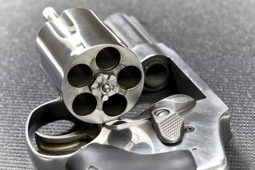 Revolver with Cylinder Open