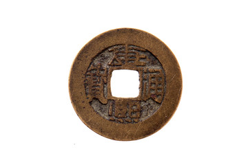 Chinese ancient copper COINS