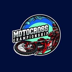 Motocross logo event
