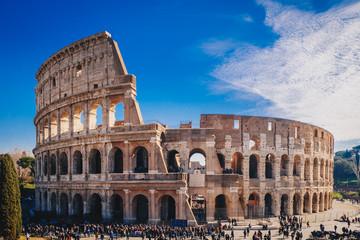 The Roman Colosseum in Rome