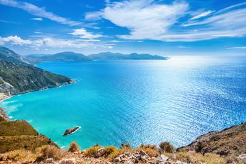 Coast of Kefalonia island, Greece