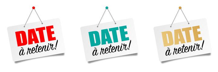 Date à retenir (Save the date)