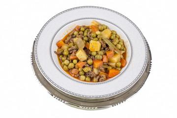 Turkish foods; etli bezelye